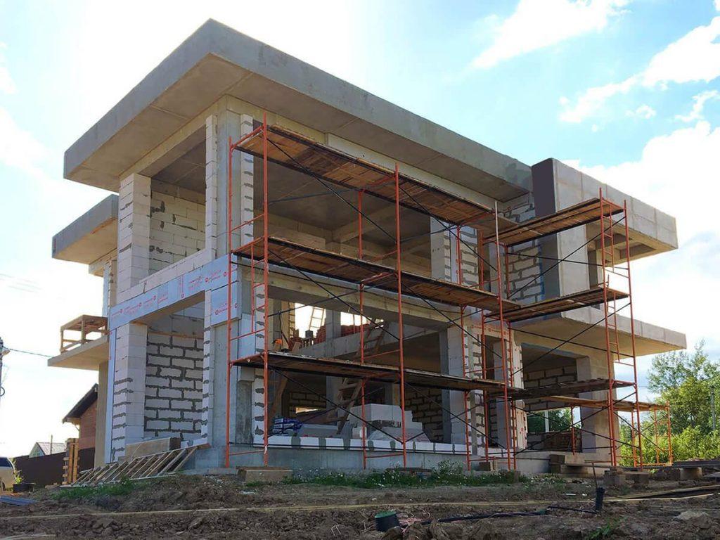 монолитное строительство домов